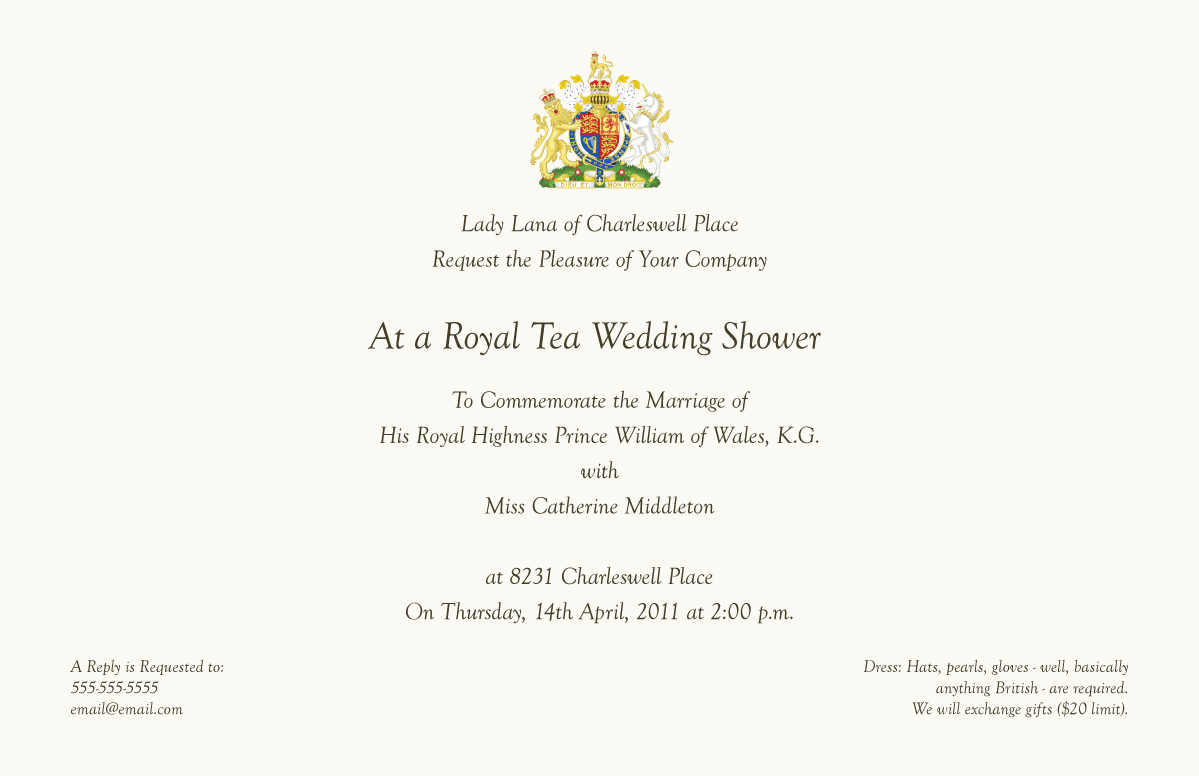 Queen Invitations is Nice Sample To Create Cool Invitations Sample
