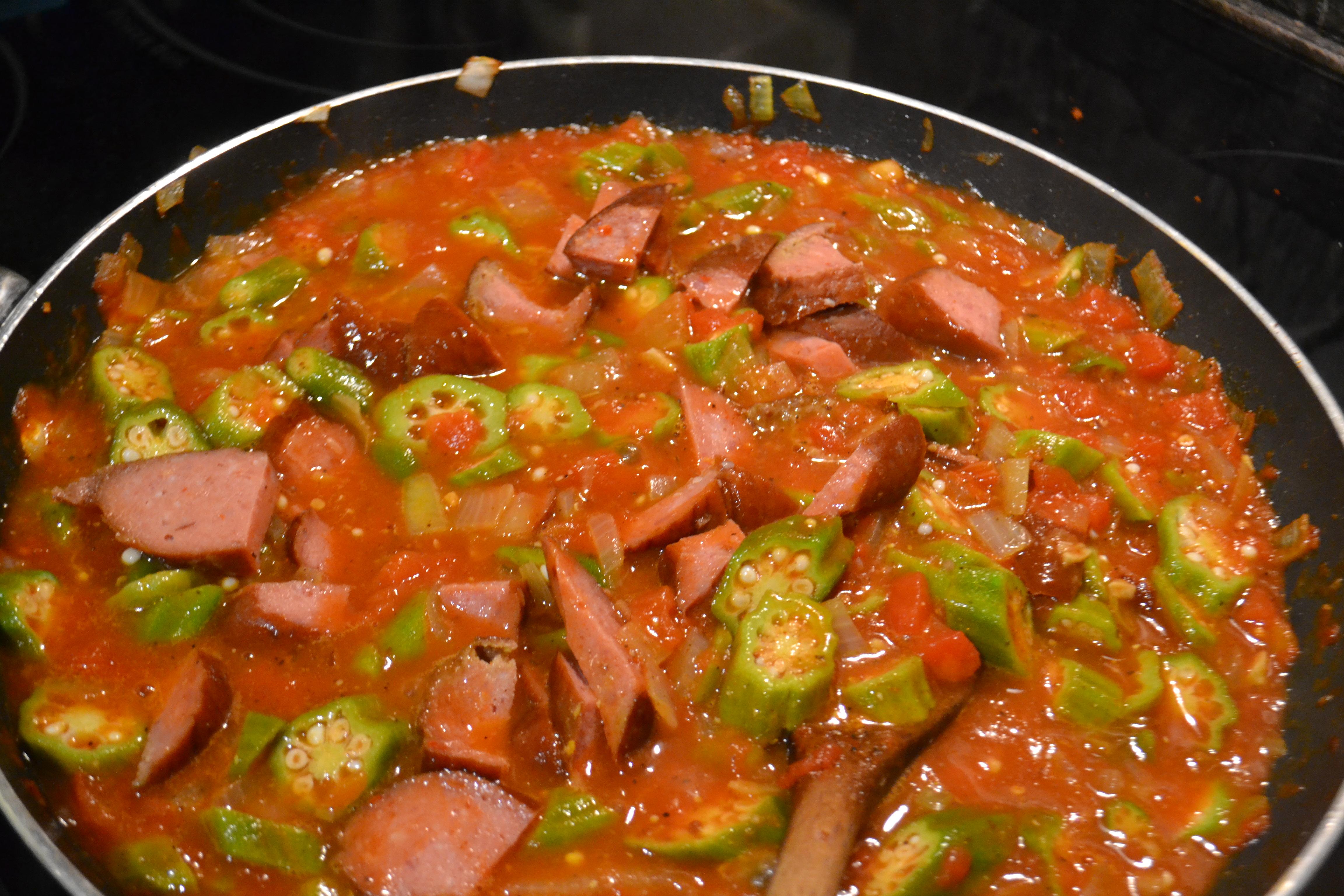 Okra And Tomatoes Recipes — Dishmaps