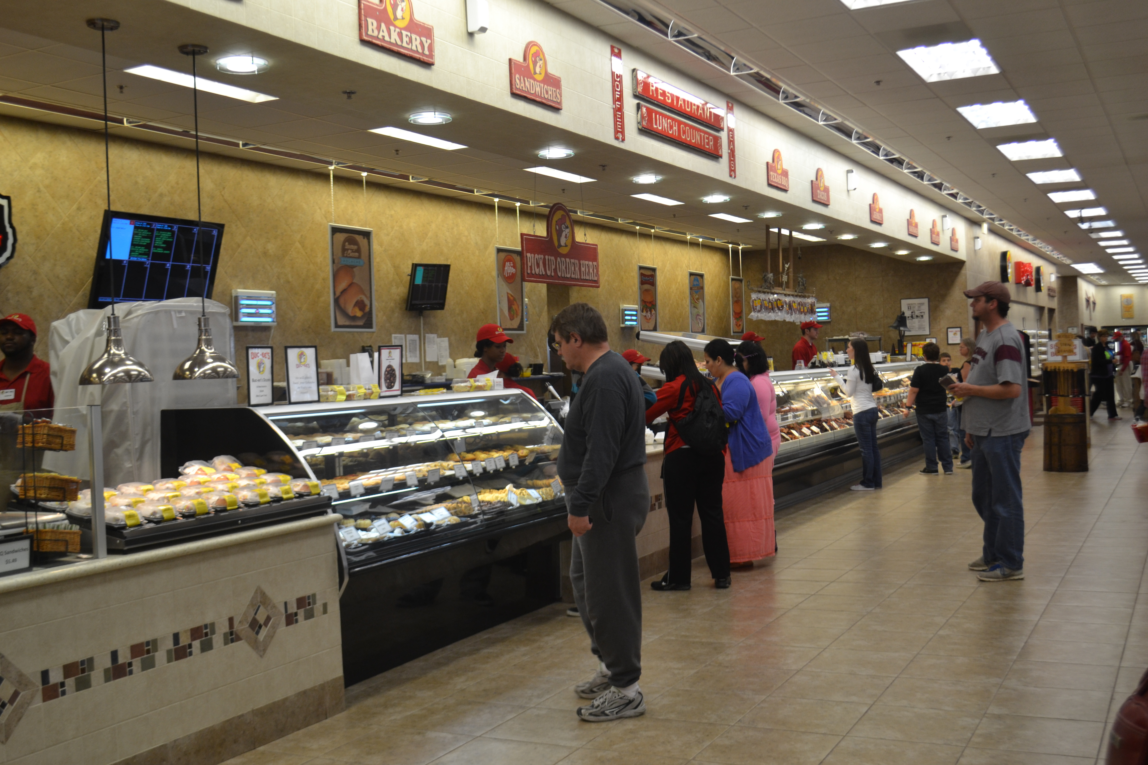 Inside Buc ee s 50 000 foot convenience store you will find a deli You  actually. Buc Ees Convenience Stores