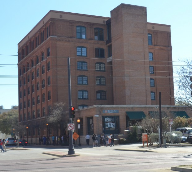 Within A Few Minutes, We Were At The Sixth Floor Museum (click Here To Go  To The Museum Website). The Museum Is Located In Dealey Plaza On Elm Street.