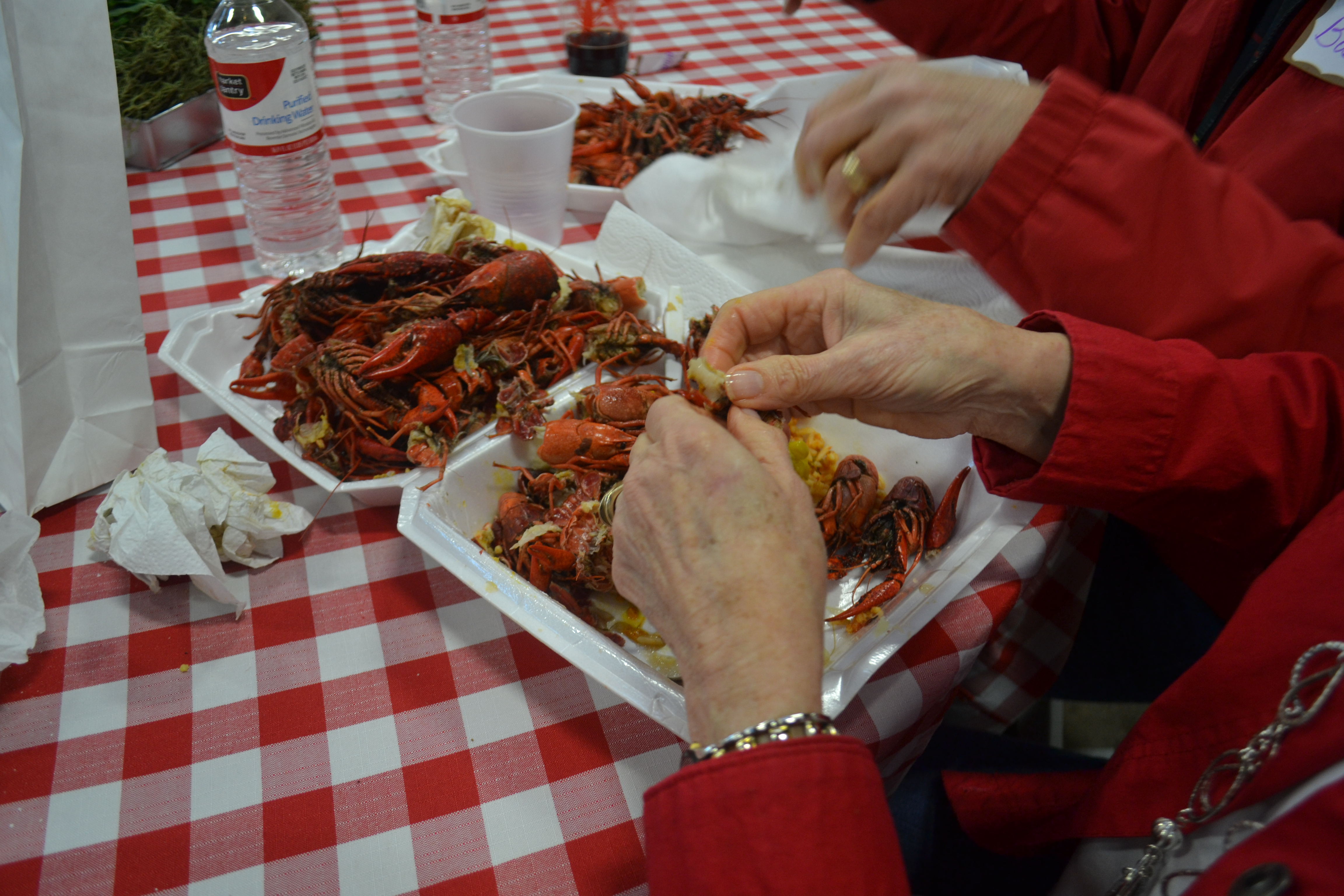 Eating Crawfish Is Labor Intensive You Get So Little Meat From The Little  Tails, But I Must Admit €� I Really Liked Eating