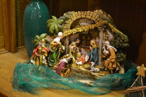 Unto Us A Child Is Born Nativity Sets Tell The Good News