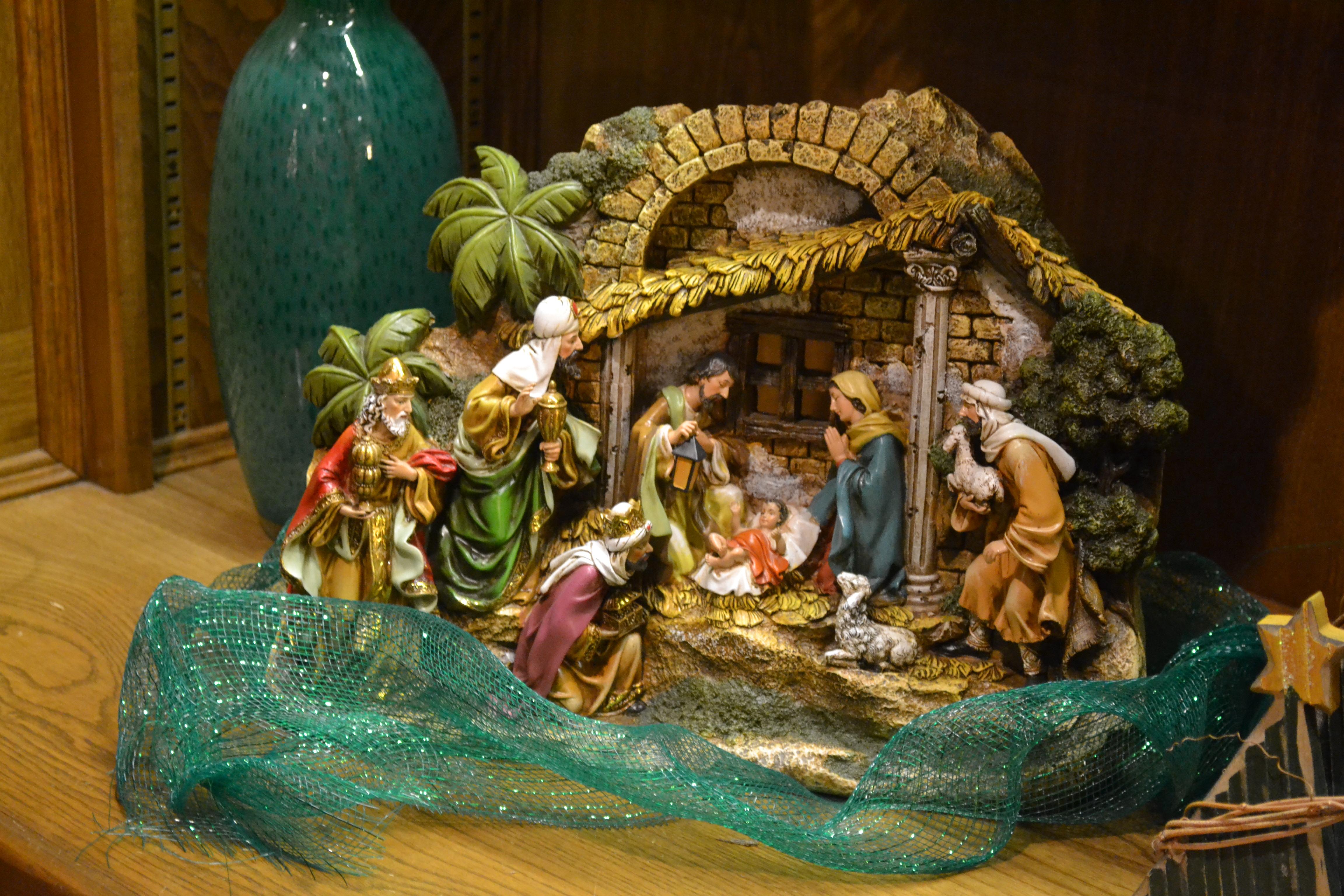 nativity decorations christmas decoration image idea