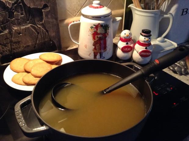 Christmas tea cider