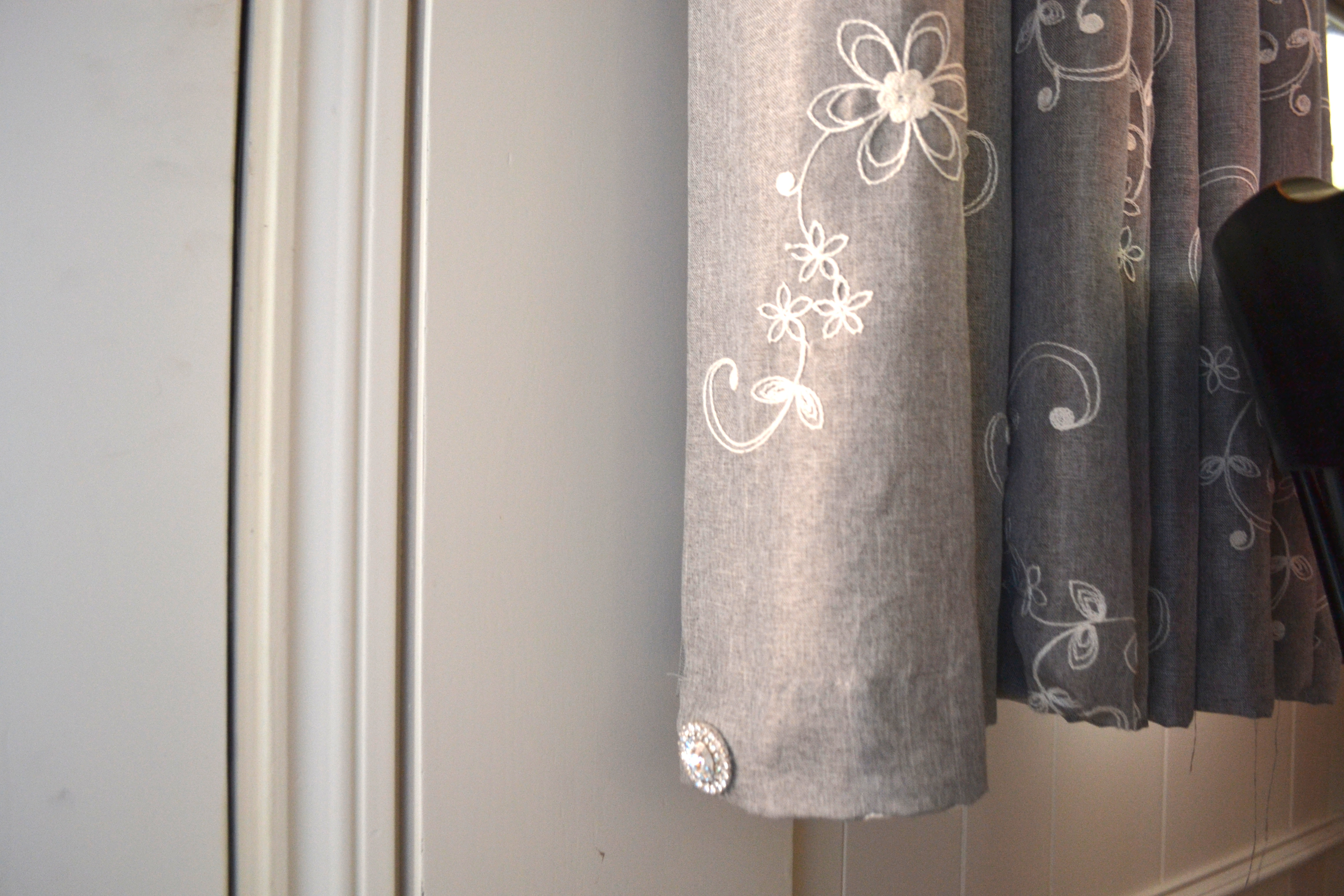 Curtain Weight A Simple Diy